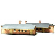 7mm Chalford Up &  Down Station Buildings.