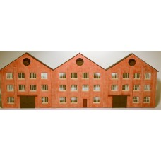 7mm Low Relief Factory Building C