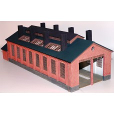 7mm Two Road Engine Shed.